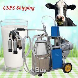 Équipement De Traite De Vache De Vache À Lait D'acier Inoxydable De La Vache Laitière Canada Stock