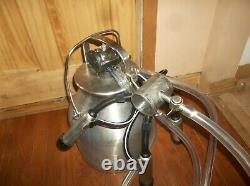 Etats-unis Delaval Dairy Cow Milker Milking Machine W Nouveau Pulsator En Caoutchouc