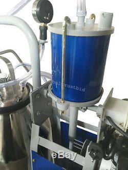 États-unis Plus Récents Vaches De Ferme D'équipement De Machine À Traire De Pompe À Vide Électrique De Piston Électrique