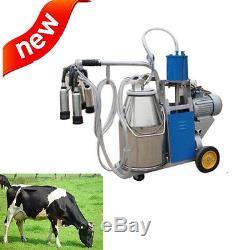 Fda Aspirateur De Trayeuse Électrique Pour Vache De Ferme Swith 25l Bucket Stainless