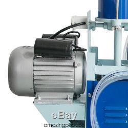 Fda Portable Électrique Machine Trayeur Traire Vaches En Acier Inoxydable Avec 25l Seau