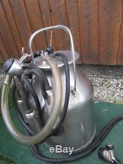 Great Delaval Pail Bucket Machine À Traire En Acier Inoxydable