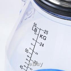 Kay 25l Transparent Portable Vache Laitière Milker Seau Barrel Réservoir Traire