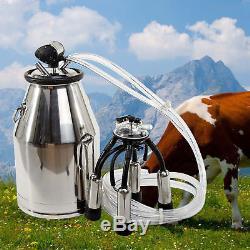 La Vache Milker 304 En Acier Inoxydable De Lait De Seau De Lait En Acier Inoxydable Traite L'équipement Us