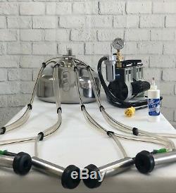 Machine À Lait Portable Surge Complete À Utiliser Avec 1 Vache Ou 2 Moutons / Chèvres