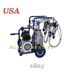 Machine À Ordonner Électrique Au Lait De Vache X 2 Vacuum Vacuum Pump 304l Stainless + Extras