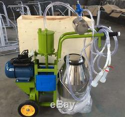 Machine À Traire À Laiterie À La Chèvre Pomme De Terre Au Poumon À La Chèvre Et Au Lait 220v