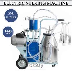 Machine À Traire De Piston Électrique De Milker De Vache Pour La Ferme Bucketusa De Vaches Par Fedex