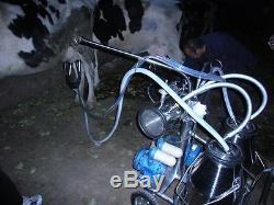 Machine À Traire De Pompe À Vide Sans Huile Pour L'usine Directe De Double De Vaches