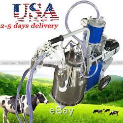 Machine À Traire De Trayeur Électrique Pour Les Vaches De Ferme