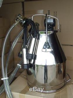 Machine À Traire De Vache Fraîche 60 Lb Avec Couvercle De Style Delaval