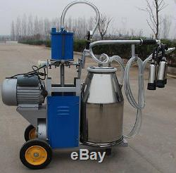 Machine À Traire Électrique 220v De Traire De Vache De Ferme Laitière De Machine Laitière Portative