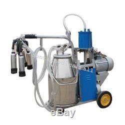 Machine À Traire Électrique De 110v Milker Pour Le Seau De Vaches De Ferme Meilleur Escompte Piston