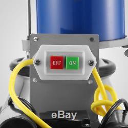 Machine À Traire Électrique De 25l Pour Des Vaches De Chèvres Withbucket Pompe À Vide 550w Automatique