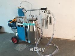 Machine À Traire Électrique De Lait Pour Des Vaches, Machine À Traire De Type À Piston 220v New Y