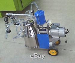 Machine À Traire Électrique De Vache Machine À Traire Portative 110v De Trayeur De Ferme Laitière