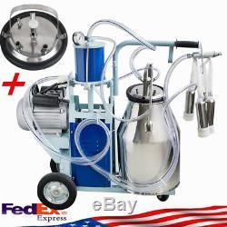 Machine À Traire Électrique Durable Pour Vaches De Chèvres Withbucket Automatic 550w 25l + Gift