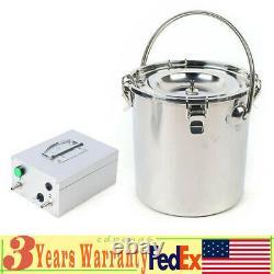 Machine À Traire Électrique Efficient Vacuum Impulse Pump Cow Milker 110v 5l Bucket