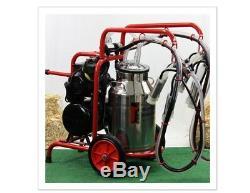Machine À Traire Électrique Portable Melasty, Double Vache. Lait 12 Vaches En 1 Heure