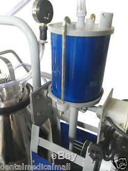 Machine À Traire Électrique Portative De Milker Du Canada -cows 4 Ferme De Trayons