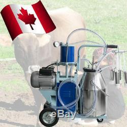 Machine À Traire Électrique Pour L'acier Inoxydable0.04-0.05mpa De Seau De Vaches De Ferme