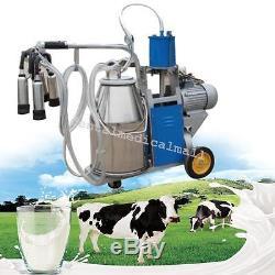 Machine À Traire Électrique Pour Les Vaches De Ferme Avec Le Piston De Bocal 0.04-0.05mpa Chaud