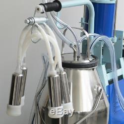Machine À Traire Électrique Pour Vaches De Chèvres Withbucket Automatic 550w 25l Farmer Use