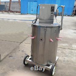 Machine D'alimentation De Veau De Ston 110v Petite Vache Acidifiée En Acier Inoxydable De Chargeur De Lait