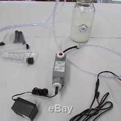 Machine De Lait De Vache Ovine De Chèvre 1/2 Gallon 2 Tétine Avec Alimentation Électrique Dansha Farms