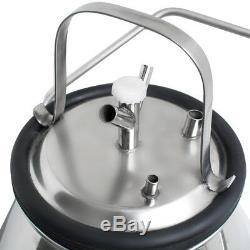 Machine De Machine Électrique Milker Lait Traire Pour La Ferme Vache + 25l Seau Warrantly