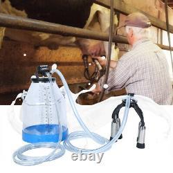 Machine De Traite De Lait De Vache Portable 32l Barreau De Réservoir De Seau Pour La Ferme Laitière