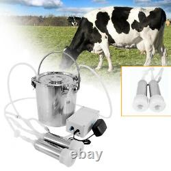 Machine De Traite Électrique Portative De 5l Pour La Vache De Ferme Avec Le Matériel De Qualité Alimentaire