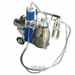 Machine Électrique De Traite Pour Des Vaches Bucket Pompe Automatique Automatique De Vide En Acier Inoxydable