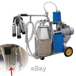 Machine Portative De Traite Milker +304 Seau D'acier Inoxydable Ca Stock Ce