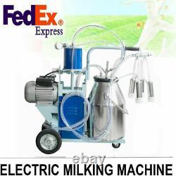 Machine Portative Portative De Laitier De Lait 25l Pour La Vache De Ferme 304 Seau Inoxydable
