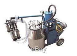 Machine Pour Piston Traire Vaches Simple Réservoir + Extras Expédié Par Fedex / Dhl