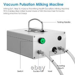 Matériel Portatif De Lait Électrique 7l Machine De Qualité Alimentaire Pour Les Bovins De Vache De Ferme