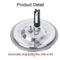 Milker Portatif De Pompe À Aspirateur De Machine De Traite Électrique De 14l Pour La Chèvre De Mouton De Vache De Ferme