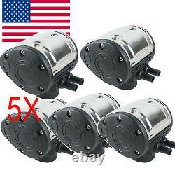 Navire Des Etats-unis ! 5 X Milking Machine L80 Pneumatic Pulsator Pour Cow Milker Dairy Farm