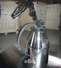 Nouvelle Machine À Réservoir À Lait Baril Laiteuse En Acier Inoxydable 304