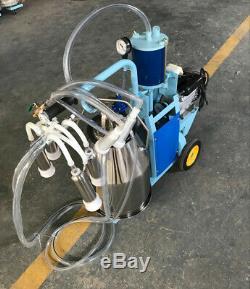 Piston Trayeuse Électrique Machine Godet Traire En Acier Inoxydable Pour Les Vaches Et Les Chèvres