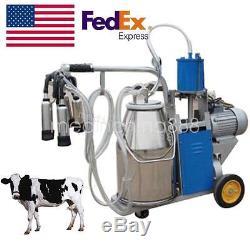 Pompe À Vide À Pistons Milker Aux États-unis Machine À Ordonner Électrique À La Ferme Cows Bucket Easy