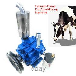 Pompe À Vide De 220l/min Pour La Machine De Traite De Vache Milker Bucket Tank Cattle Us