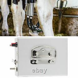 Pompe À Vide Portable De La Machine De Traite Électrique Pour Les Moutons De Vache De Ferme