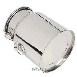 Pompe À Vide Portative Electric Barrel Milking Machine Pour Cow Goat Milker 5l Nouveau