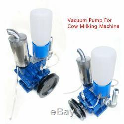 Pompe À Vide Pour La Vache Machine Milker Seau Traire Baril Réservoir 250 L / Min Prime