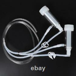 Portable 2l Farm Electric Milking Machine Goat Cow Milker Pump Bucket Tool
