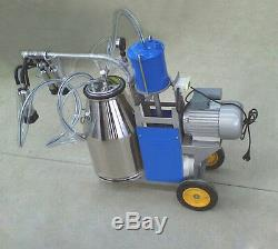 Portable Électrique Traire Machine Trayeuse Vache Et Chèvre Machine 220 V Traire