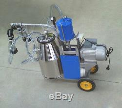 Portable Trayeuse Électrique Machine Vache Traire Ferme Laitière Machine 220 V Traire