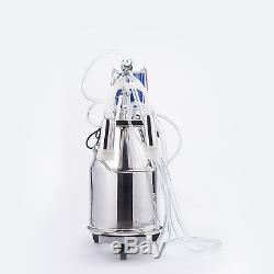 Pulsateur Électrique Simple De Trayeuse De Machine À Traire De Vache Avec Le Seau 25l